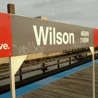 Photo taken at CTA - Wilson by Kevin Michael on 8/19/2012