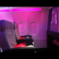 Photo taken at Virgin America by Anna N. on 5/27/2012