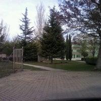 Photo taken at Universidad de Valladolid - Campus La Yutera by Loren P. on 4/19/2012