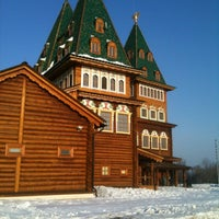 Photo taken at Wooden Palace of Tzar Alexis of Russia by Katerina T. on 3/9/2012