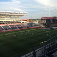 Photo taken at Toyota Park by Tommy S. on 7/14/2012