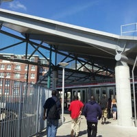 Photo taken at MBTA Ashmont/Peabody Square Station by neopage on 8/26/2012