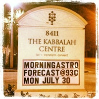Photo taken at Kabbalah Centre by Gregg Rory H. on 7/11/2012