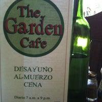 Photo taken at The Garden Café by GabrielaOdiliz S. on 3/24/2012