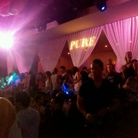 Photo taken at PURE Nightclub by Melissa on 6/20/2012