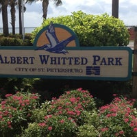 Photo taken at Albert Whitted Park by Christopher on 8/28/2012