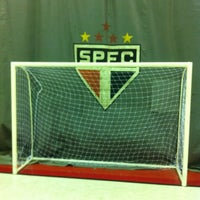 Photo taken at Interno Futsal G1-SPFC by Jihad M. on 8/16/2012