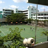 Photo taken at Taweethapisek School by Panomkorn N. on 2/28/2012