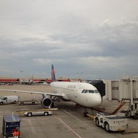 Photo taken at Concourse A by Judson P. on 8/29/2012