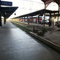 Photo taken at Prague Masaryk Railway Station by Jan Č. on 6/21/2012