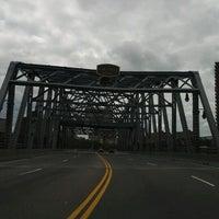 Photo taken at 145th Street Bridge by Lisa E. on 6/5/2012