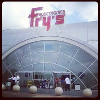Photo taken at Fry's Electronics by Bryan L. on 4/14/2012