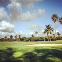 Photo taken at Crandon Golf at Key Biscayne by Michael S. on 5/4/2012