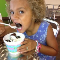Photo taken at Sweet Frog Smith Mountain Lake by Stacy N. on 8/14/2012