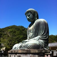 Photo taken at Great Buddha of Kamakura by SeaZ p. on 9/4/2012