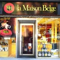 Photo taken at La Maison Belge by Monapart on 5/24/2012