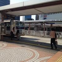 Photo taken at Shinjuku Sta. West Exit Bus Terminal by Siori ★. on 4/24/2012