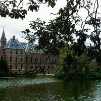Photo taken at Hofvijver by Wim d. on 8/25/2012