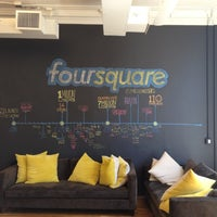Photo taken at Foursquare HQ by Jenny D. on 5/11/2012