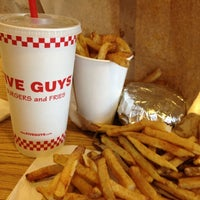 Photo taken at Five Guys by Ed M. on 5/4/2012