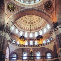 Photo taken at Yeni Cami by Ömer O. on 8/11/2012