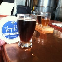 Photo taken at Lost Colony Brewery and Cafe by Rachel R. on 7/13/2012