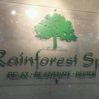 Photo taken at Rainforest Spa by I-May T. on 2/6/2012
