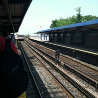 Photo taken at MTA Subway - Broad Channel (A/S) by Liz W. on 5/28/2012