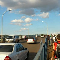 Photo taken at Ponte Internacional da Amizade by Luciano S. on 4/17/2012