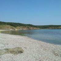 Photo taken at Listi Beach by Boril G. on 7/5/2012