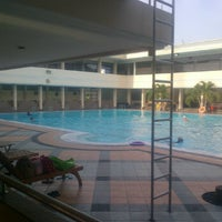 Photo taken at Manyar swimming pool by Fauziah S. on 3/5/2012