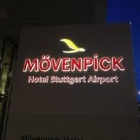 Photo taken at Mövenpick Hotel Stuttgart Airport & Messe by robert l. on 3/17/2012