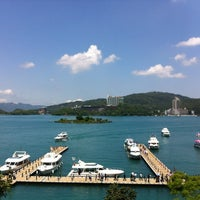 Photo taken at Cruise @ Sun Moon Lake by Sophia T. on 4/11/2012
