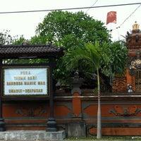 Photo taken at pura taman sari bendesa manik mas umadui by Goes E. on 9/2/2012