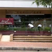 Photo taken at Karal Peruvian Cuisine by Gabriel B. on 4/1/2012