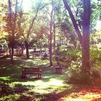 Photo taken at Umlauf Sculpture Garden by Brooke M. on 5/27/2012