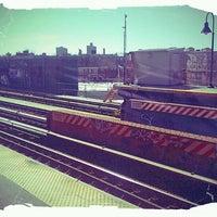 Photo taken at MTA Subway - Halsey St (J/Z) by Rebeka S. on 3/11/2012