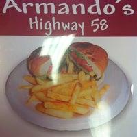Photo taken at Armandos by Caleb S. on 3/6/2012