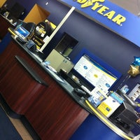 Photo taken at Goodyear Auto Service Center by Kyle M. on 4/11/2012