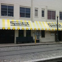 Photo taken at Spanky's Pizza Gallery & Saloon by Jonathan S. on 3/25/2012