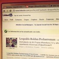 Photo taken at LeopoldoRoldanP by Leopoldo R. on 5/11/2012
