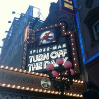 Photo taken at Spider-Man: Turn Off The Dark at the Foxwoods Theatre by Martin O. on 4/21/2012