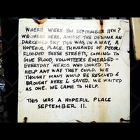 Photo taken at St. Vincent's Hospital (Former Site) by Nikelii B. on 9/11/2012