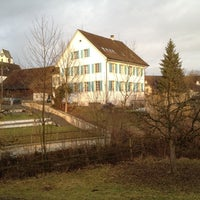 Photo taken at Altes Schulhaus by phidou on 2/19/2012