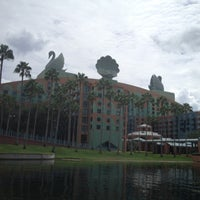Photo taken at Walt Disney World Swan Hotel by Ross C. on 8/11/2012