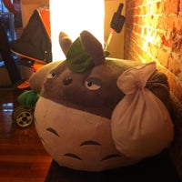 Photo taken at Totoro Japanese Restaurant by Kelly C. on 7/2/2012