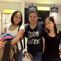 Photo taken at AUH T3 First Class Check-In by Kristina B. on 6/28/2012