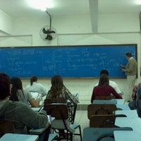 Photo taken at Universidade Santa Cecília (Unisanta) by Paulo Roberto D. on 5/18/2012