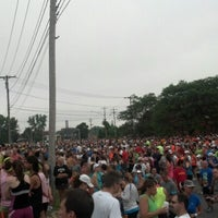 Photo taken at Boilermaker 15K Starting Line by Max G. on 7/8/2012