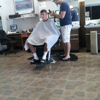 Photo taken at Judys Barbershop by Cassie R. on 8/14/2012
